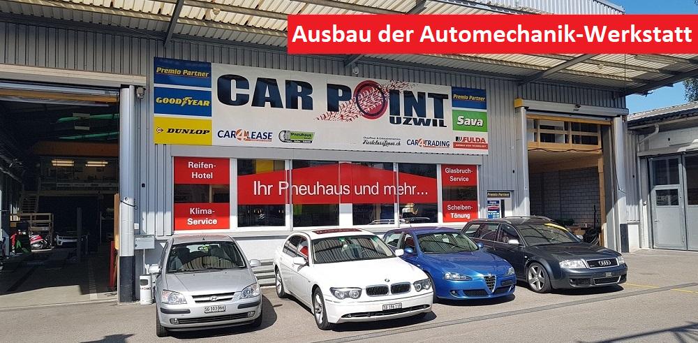 CarPoint-Uzwil Baut Service-Palette Weiter Aus
